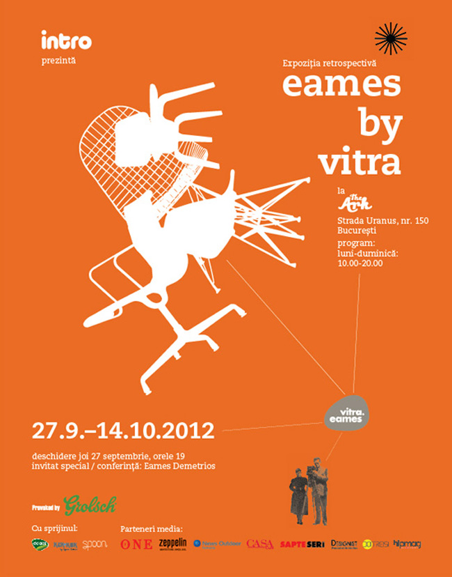 "Expoziția retrospectivă ""Eames by Vitra"" @ The Ark, București"