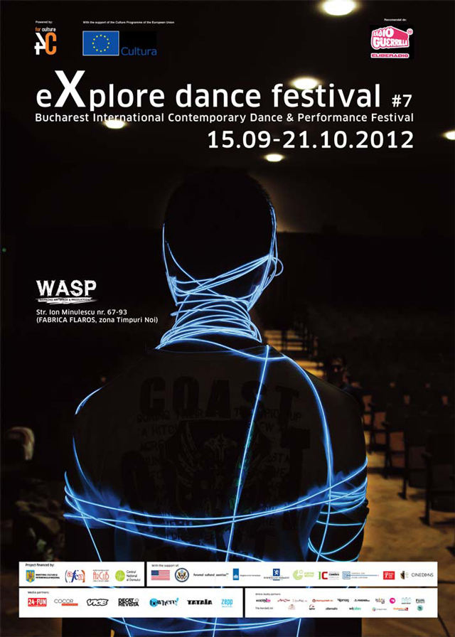 eXplore dance festival – Bucharest International Contemporary Dance & Performance Festival, ediția a șaptea