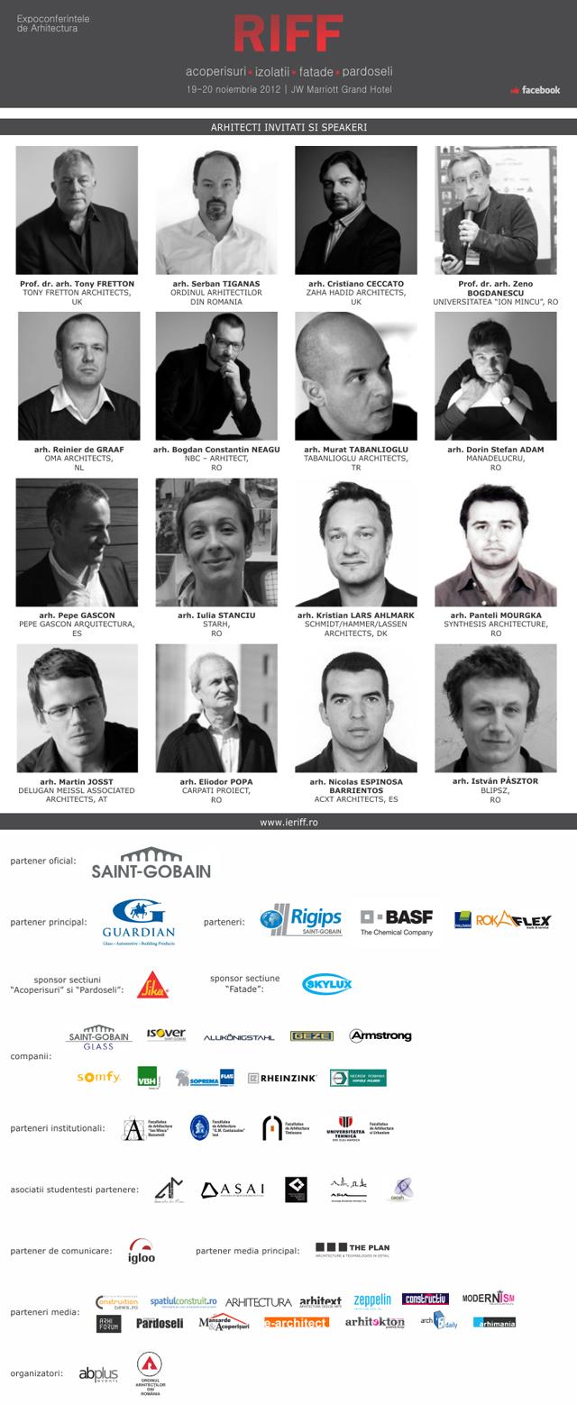 Expoconferință internațională de arhitectură RIFF 2012