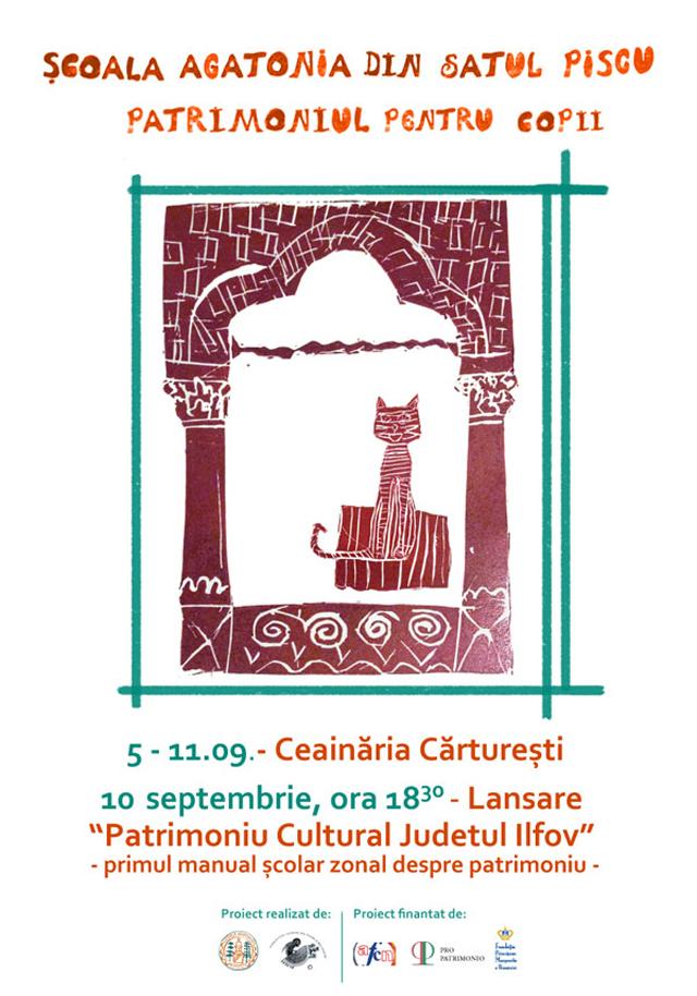 Patrimoniul pentru copii, expoziție și lansare manual @ Asociația Gaspar, Baltasar & Melchior