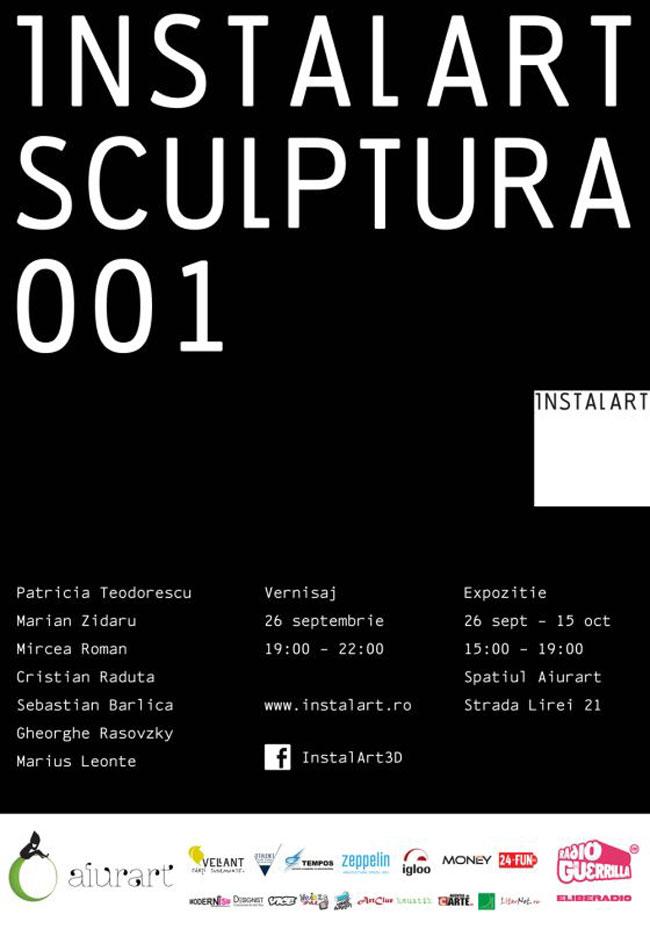 instalart / sculptura / 001 @ aiurart, București