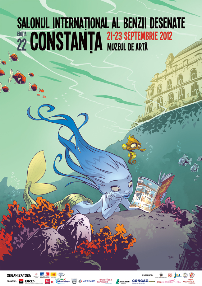 Salonul Internațional al Benzii Desenate de la Constanța