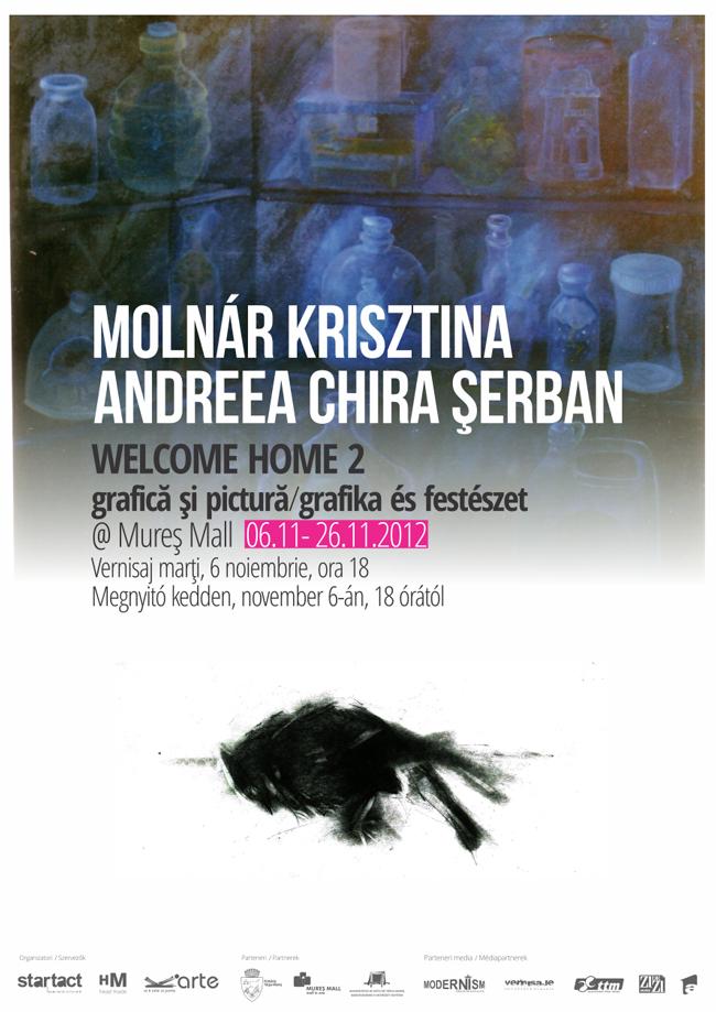 """""""Welcome Home"""" (2) – Expoziție de artă vizuală la Târgu Mureș"""