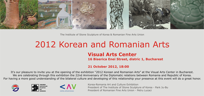 """2012 Korean and Romanian Arts"" @ Căminul Artei, București"