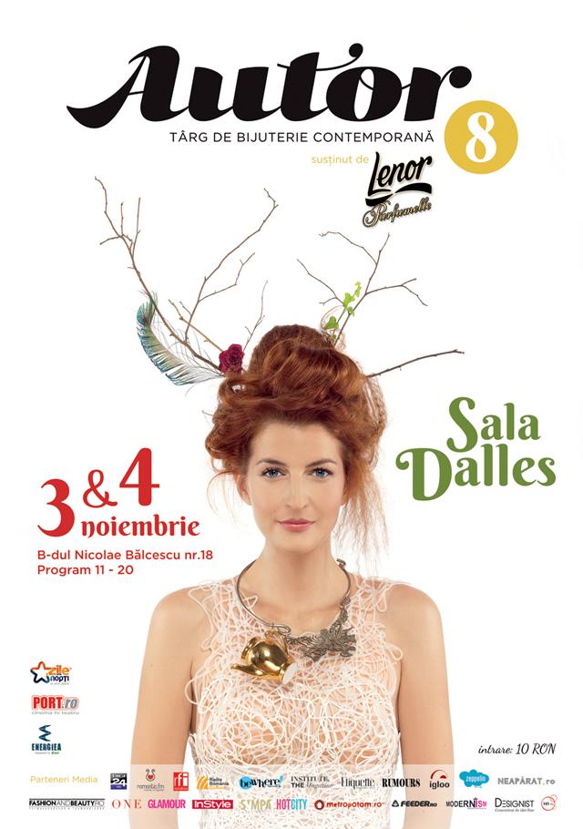 Peste 60 de tineri designeri români te așteaptă în weekend la Târgul de Bijuterie Contemporană AUTOR