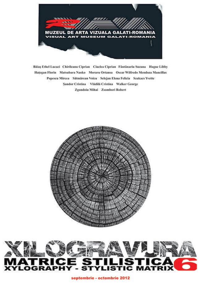 Xilogravura – Matrice Stilistică 6 @ Muzeul de Artă Vizuală Galați
