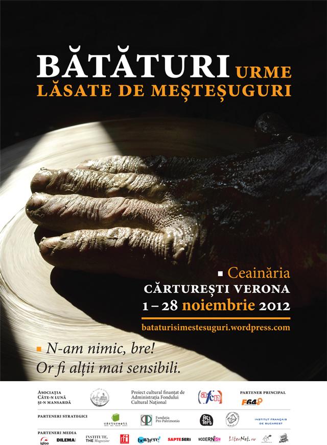 Bătătura nu-i bătătură, ci uzură în bătaia timpului…Expoziție la Cărturești București