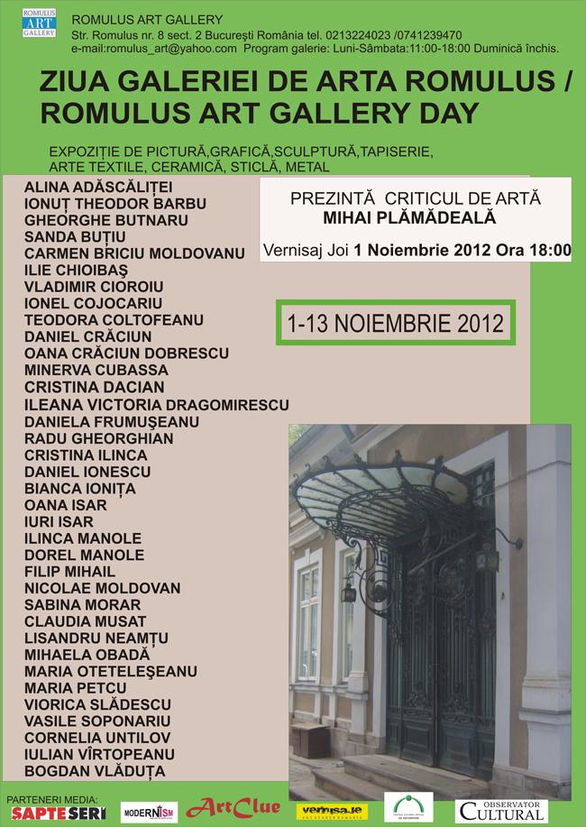 Ziua Galeriei Romulus Art