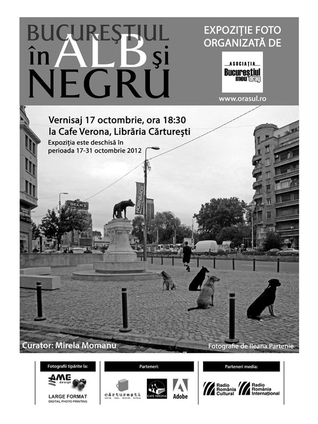 """""""Bucureștiul în alb și negru"""" @ Librăria Carturești, Verona"""