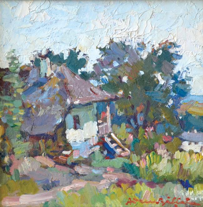 Casa de licitații Goldart a vândut în totalitate colecția de picturi Adam Bălțatu