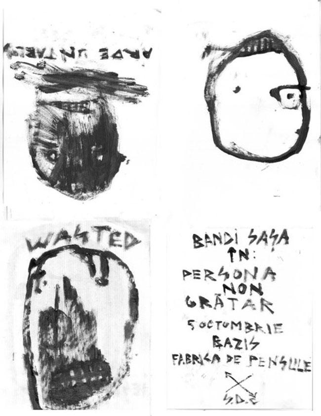 BAZIS contemporary art space Cluj-Napoca, PERSONA NON GRĂTAR – Bandi SAȘA