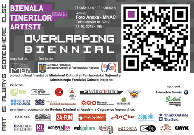 Bienala Tinerilor Artişti, ediţia a V-a, 2012 – Overlapping Biennial