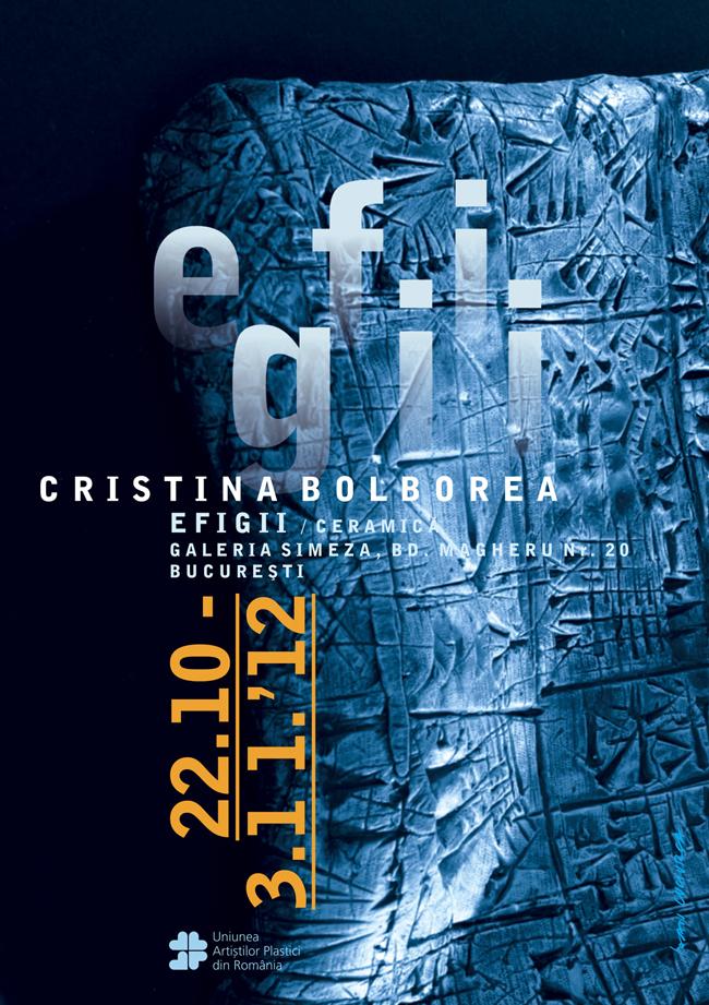"""Cristina Bolborea """"Efigii"""" @ Galeria Simeza"""