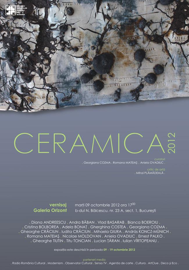 """""""Ceramica 2012"""" @ Galeria Orizont"""