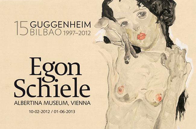 Egon Schiele at Guggenheim Museum Bilbao