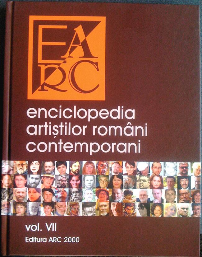 A apărut Enciclopedia Artiștilor Români Contemporani volumul 7