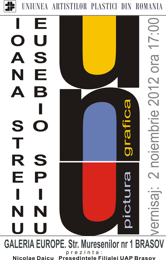 Eusebio Spinu și Ioana Streinu @ Galeria Europe, Brașov