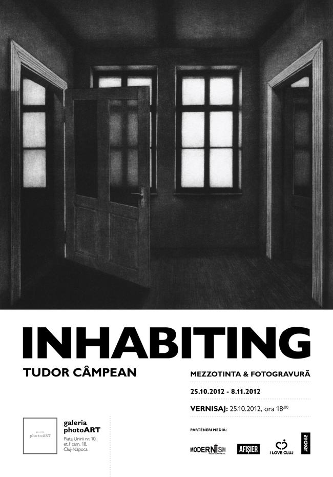 """Tudor Câmpean """"INHABITING – mezzotinta & fotogravură"""" @ Galeria photoART, Cluj-Napoca"""