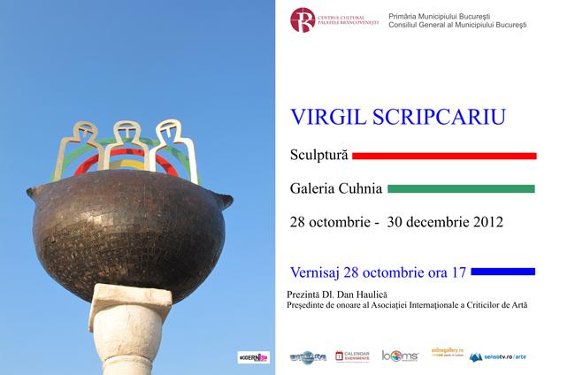 Virgil Scripcariu la Galeria Cuhnia, Palatul Mogoșoaia
