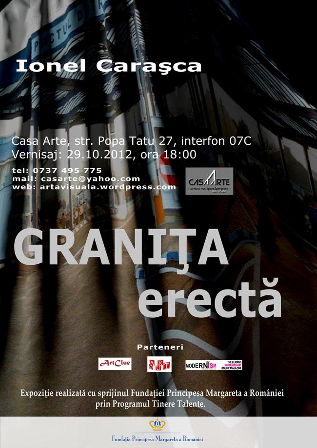 """""""Granița erectă"""" Open studio cu Ionel Carașca @ Casa Arte, București"""