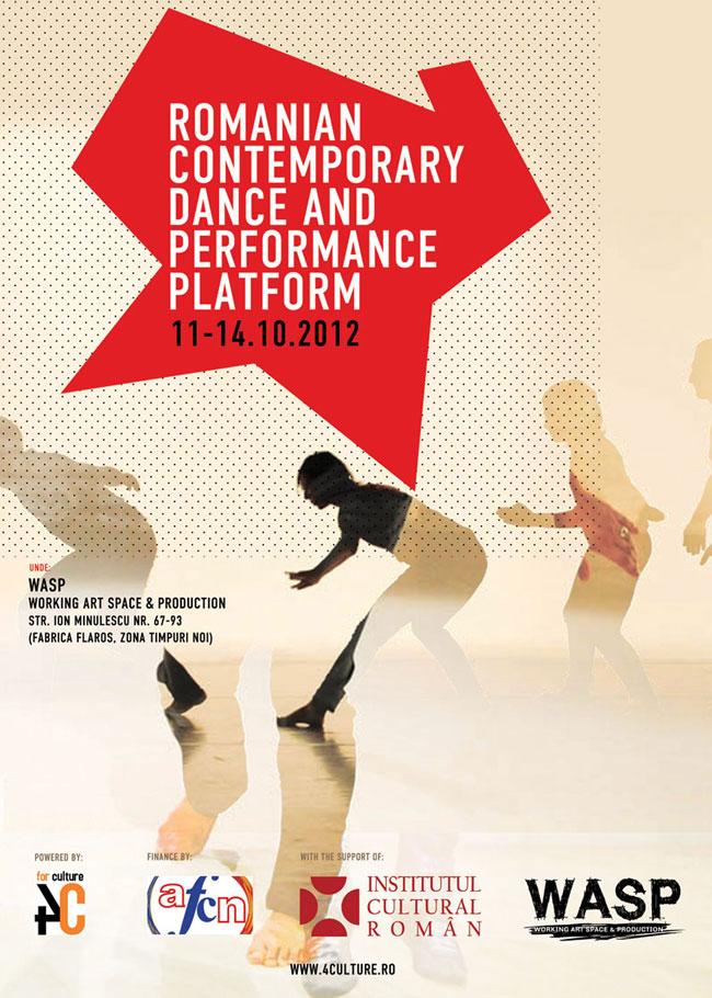 PLATFORMA ROMÂNEASCĂ DE DANS CONTEMPORAN ȘI PERFORMANCE din cadrul eXplore dance festival #7