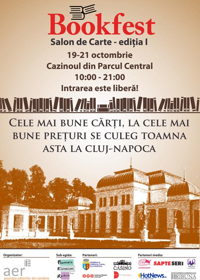 10.000 de volume, invitați de calibru și cinema de artă, numai la Bookfest Cluj-Napoca
