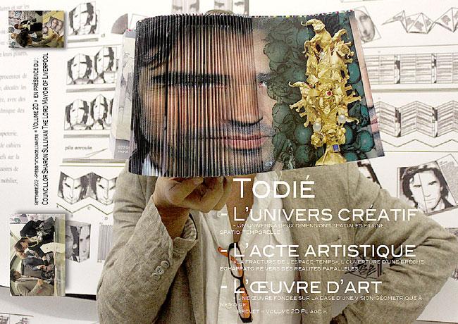 "Cristian Todie ""De Paris à Tîrgu Jiu"" @ Centre Culturel Christiane Peugeot, Paris"