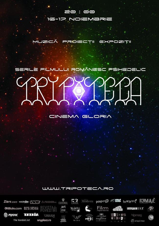 Prima ediţie a festivalului de film și artă psihedelică Tripoteca