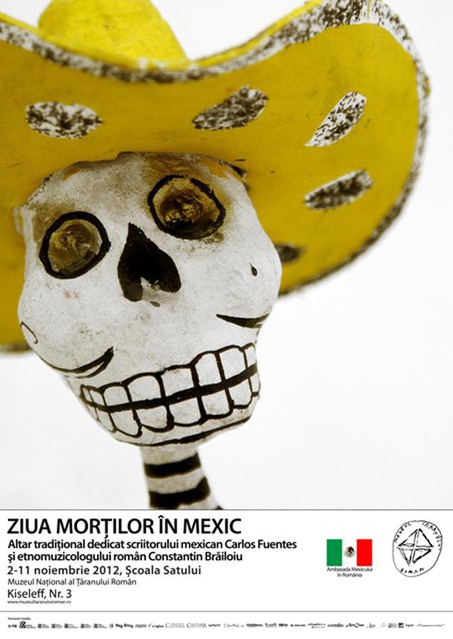 Ziua Morţilor în Mexic @ Muzeul Național al Țăranului Român