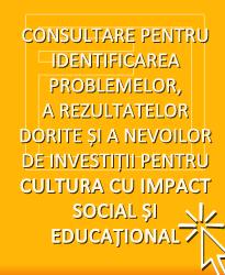 CONSULTARE ÎN CONTEXTUL ELABORĂRII DOCUMENTELOR PROGRAMATICE PENTRU FONDURI STRUCTURALE 2014-2020