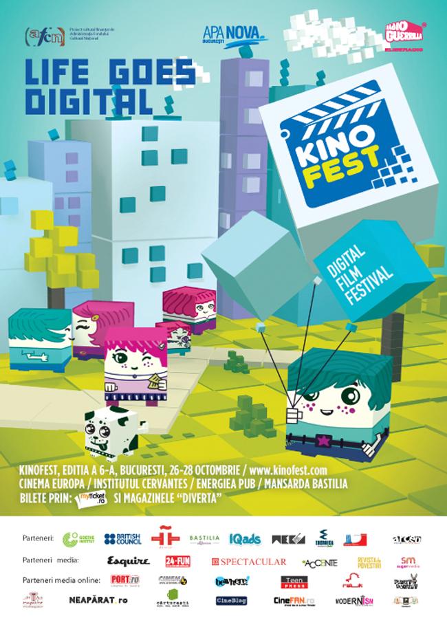 Festivalul Internaţional de Film Digital Kinofest prezintă 200 de filme în premieră
