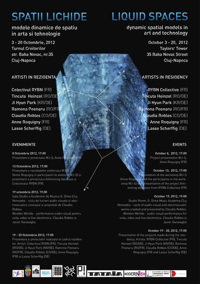 Spații Lichide – modele dinamice de spațiu în artă și tehnologie @ Turnul Croitorilor din Cluj