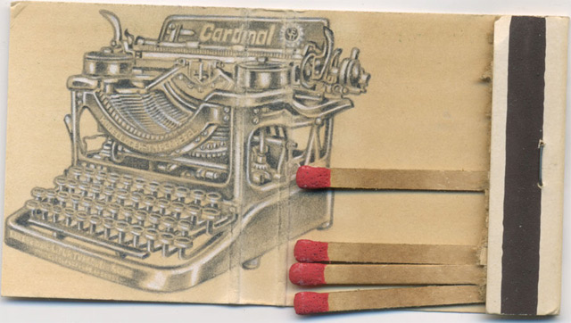 Tiny Illustrations Drawn Inside Matchbooks by Jason D'Aquino