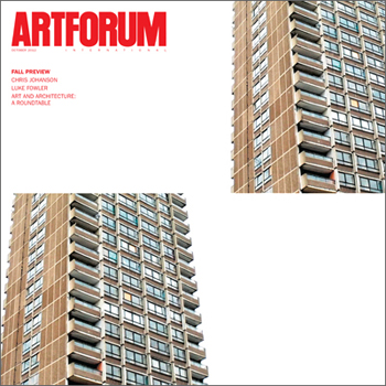 October 2012 in Artforum