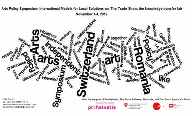 Simpozion de politici artistice: Modele internaţionale pentru soluţii locale