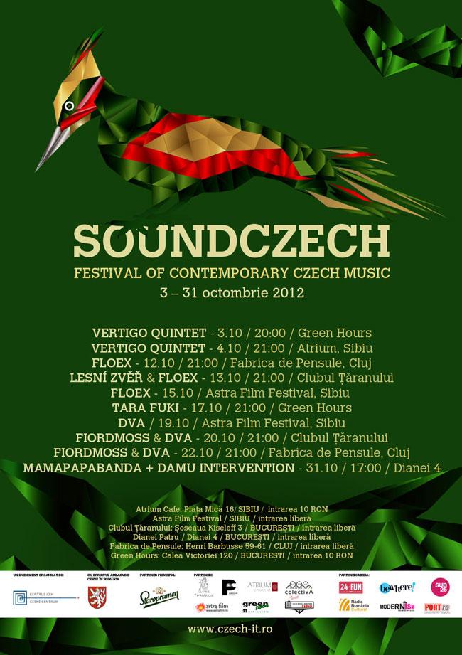 Muzica cehă contemporană ajunge în România