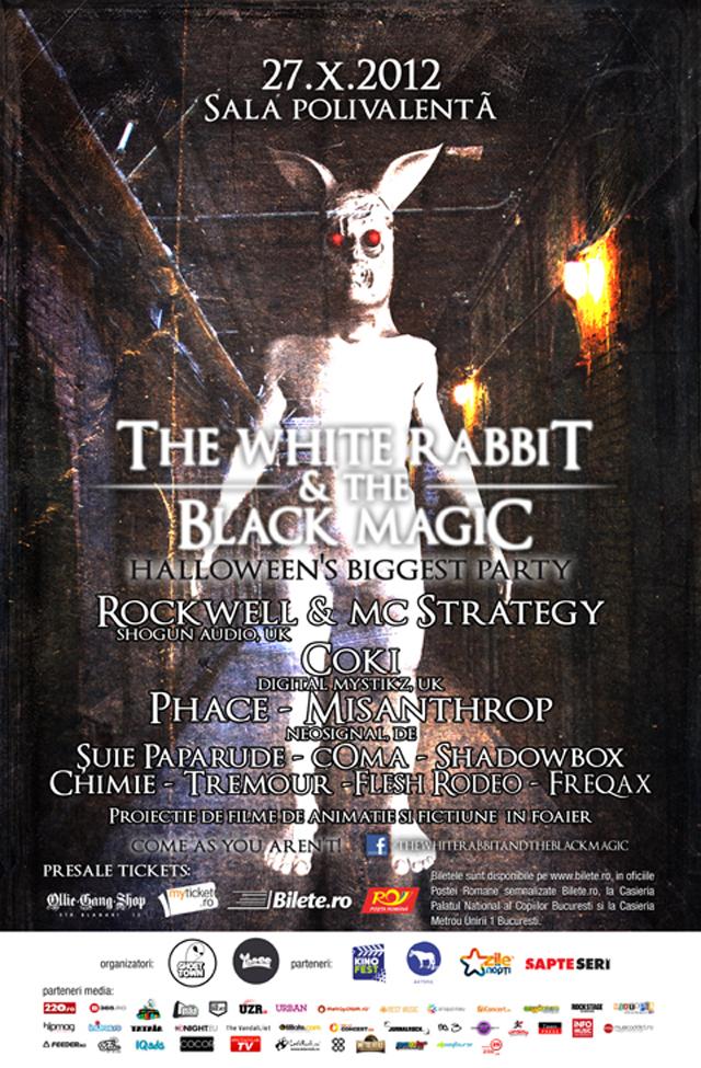 Concert și filme de Halloween: The White Rabbit and The Black Magic @ Polivalentă București – câștigă invitații