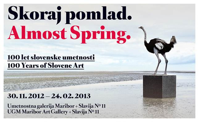 ALMOST SPRING – 100 Years of Slovene Art @ Maribor, Slovenia