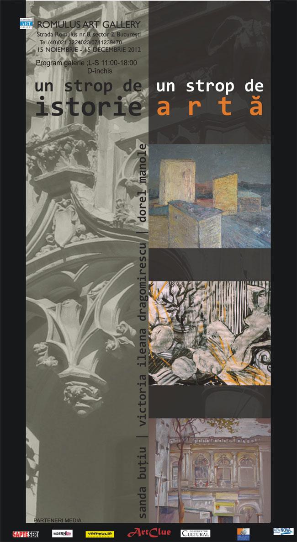 SANDA BUŢIU, VICTORIA ILEANA DRAGOMIRESCU, DOREL MANOLE @ Romulus art Gallery
