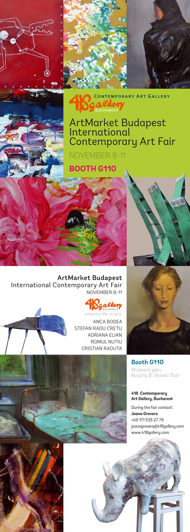 418 Contemporary Art Gallery la Art Market Budapest 2012