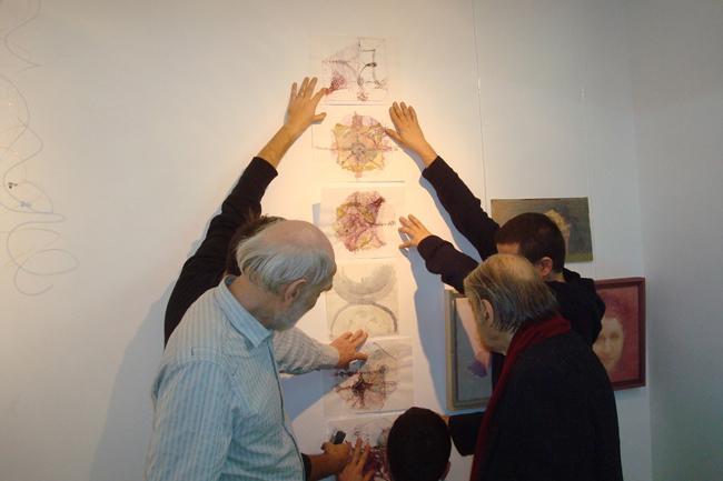 """Constantin Flondor și Gruparea Noima """"Adnotari-lecții de pictură"""" @ Galeriei Anticariat Curtea Veche, București – galeria de imagini"""