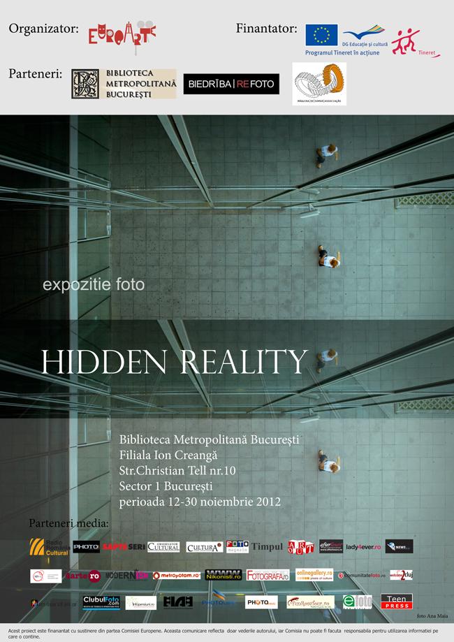 """Expoziția de fotografie """"Hidden Reality"""" @ Biblioteca Metropolitană Bucureşti, Filiala Ion Creangă"""