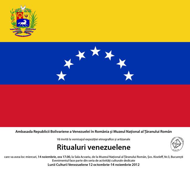 Ritualuri venezuelene @ Muzeul Naţional al Ţăranului Român