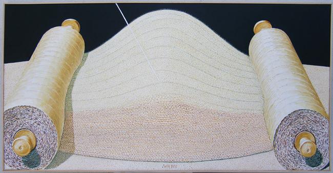 """Onisim Colta """"Culoare, formă, sens"""" la Muzeul de Artă din Arad"""
