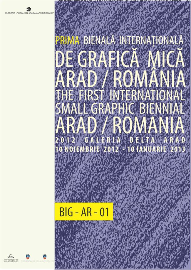 Prima Bienală Internațională de Grafică mică – Arad 2012