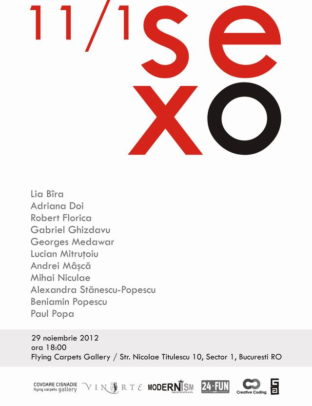 sexo 11/1 @ Flying Carpets Gallery