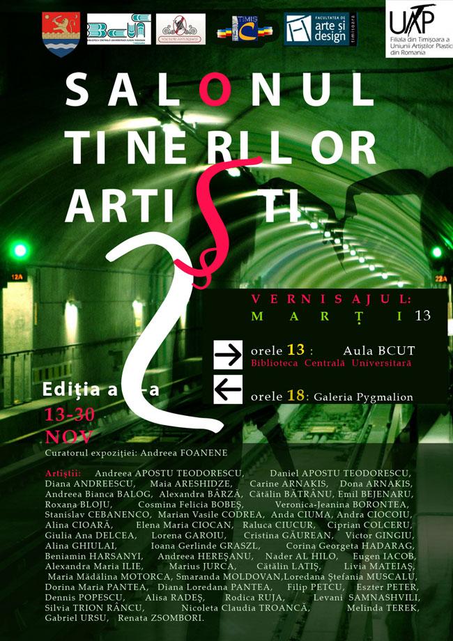 Salonul Tinerilor Artişti, Modernitate, Inovatie, Experiment, ediţia a II-a, 2012, Timişoara