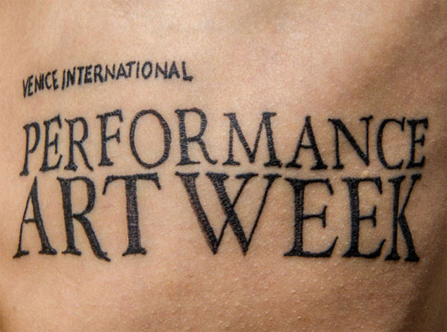 Venice International Performance Art Week