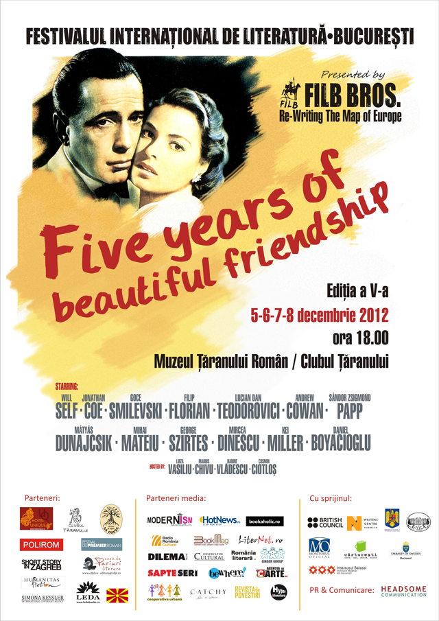 Five years of beautiful friendship: cea de-a V-a ediție a Festivalului Internațional de Literatură de la București
