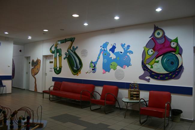 Prima intervenție artistică în spitale – Anima Sana